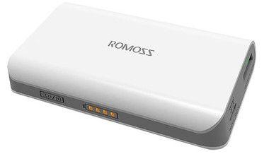 ROMOSS Solo 3 / Power Bank / 6.000mAh / Bílá