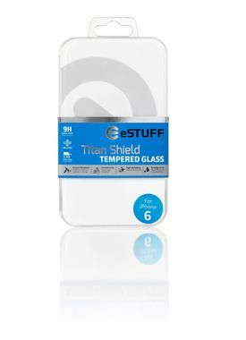 eSTUFF TitanShield pro iPhone 6 Full White / Temperované sklo / Full Cover Glass