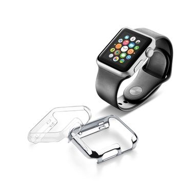 CellularLine Ochranný kryt Invisible pro Apple Watch 38mm / 2ks