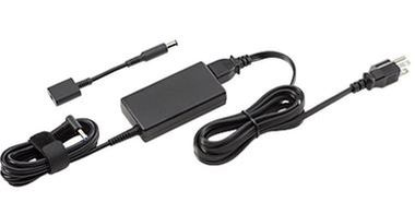 HP 45W Smart AC Adapter / pro notebook HP / černý