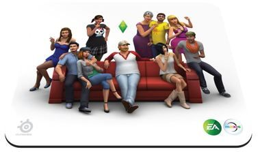 SteelSeries QCK Sims4 Edition