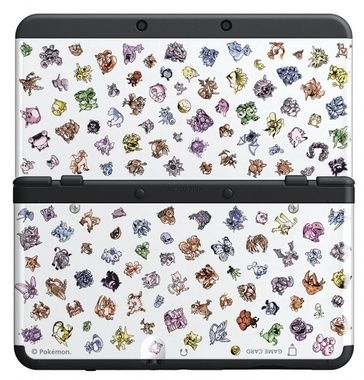 New 3DS Cover Plate 31 / kryt pro nové Nintendo 3DS / Pokemon 20th Anniversary