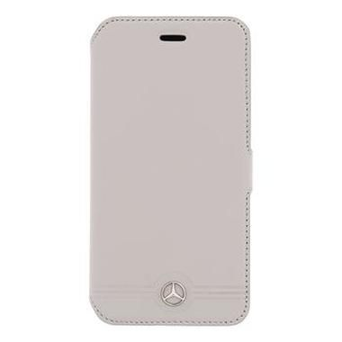 Mercedes Book pouzdro Grill pro Apple iPhone 6 a 6S / šedý