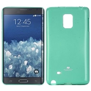 Mercury Jelly Case pro Samsung Galaxy Note 4 Edge (N915) / zelený