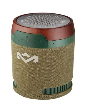MARLEY Chant BT Speaker Green / přenosný audio systém s Bluetooth / zelená