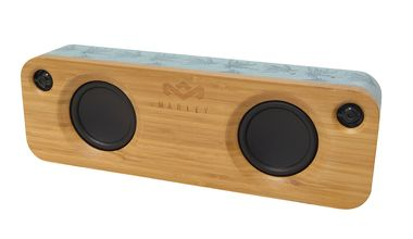 MARLEY Get Together BT Speaker Blue Hemp / přenosný audio systém s Bluetooth / hnědo-modrý