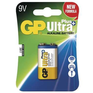 GP Ultra Plus alkalické baterie 9V 6LF22 / 1ks