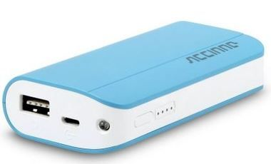Accinno Origin2 BA20 / Power Bank / 5200mAh / modrá