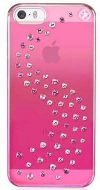 Bling My Thing Milky Way Pink Metallic Love Mix zadní kryt pro Apple iPhone 5, 5S, SE / MADE WITH SWAROVSKI® ELEMENTS