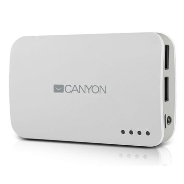 CANYON CNE-CPB78W / Powerbanka / 7800 mAh / Bílá