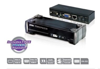 ATEN Video a Audio Splitter / 8 port / Cat. 5