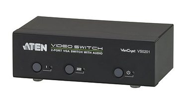 ATEN VS0201 / 2-Port VGA Switch s Audio