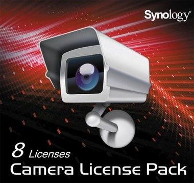 Synology Camera Licence Pack x 8