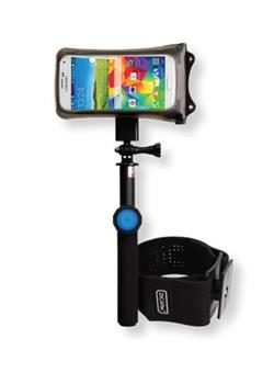 DiCAPac Action DARS-C1 Action Floating Selfie Stick s Bluetooth remote + Waterproof cases + Armband