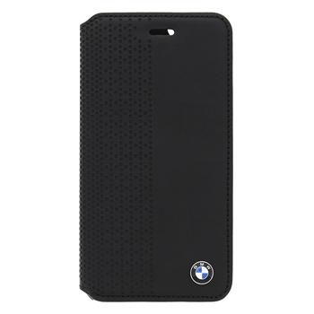 BMW Book pouzdro Perforated pro Apple iPhone 5 a 5S / černý