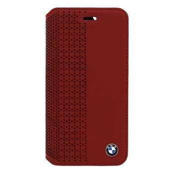 BMW Book pouzdro Perforated pro Apple iPhone 6 / červený