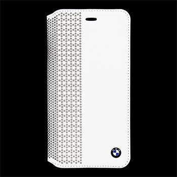 BMW Book pouzdro Perforated pro Apple iPhone 6 Plus / bílý
