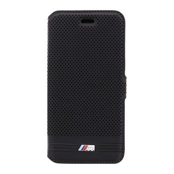 BMW Embossed Line Black Book pouzdro pro Apple iPhone 6 a 6S / černý