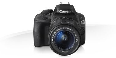 "Canon EOS 100D + objektiv EF-S 18-55mm IS STM / 18 Mpix / CMOS / 3"" LCD"