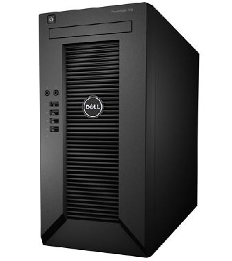 DELL PowerEdge T20 / Xeon Quad Core E3-1225 v3 / 8GB ECC / 2x 1TB SATA / GLAN / Win SF 2012 / černá / 3YNBD