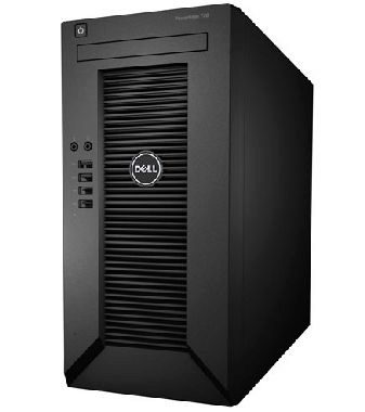 DELL PowerEdge T20 / Pentium Dual Core G3220 / 4GB / 1x 500GB (7200) SATA / mini tower / 1x GLAN / 3YNBD