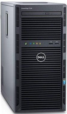 DELL PowerEdge T130 / Xeon E3-1220 v5 / 8GB / 2x 1TB SAS / DVDRW / H330 / 2x GLAN / 3YNBD
