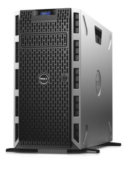 DELL PowerEdge T430 / Xeon E5-2620 v3 2.4GHz / 8GB / 1x 300GB SAS 10k / DVDRW / H330 / 2x GLAN / 1YNBD on-site