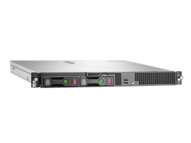 HP ProLiant DL20 G9 / Intel Xeon E5-2623v3 3.0GHz / 16GB / 2x300GB / DVDRW / 2x GLAN / 550W