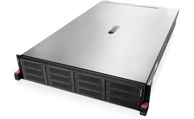 "Lenovo ThinkServer RD650 Rack / Intel Xeon E5-2620v3 2.4GHz / 2x8GB / 8x 2.5"" SATA-SAS / DVD / 750W 80+ Platinum"