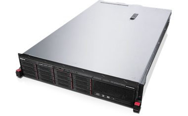 "Lenovo ThinkServer RD450 Rack / Intel Xeon E5-2609v3 1.9GHz / 8GB / 8x 2.5"" SATA / DVD / 550W Platinum"