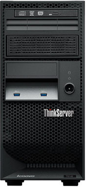 Lenovo ThinkServer 140 TWR / Intel Xeon E3-1226v3 3.3GHz / 8GB / 2x1TB / DVD / 450W / Windows Server2012 R2 Foundation