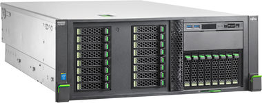 "Fujitsu Primergy RX2560 M1 / Intel Xeon E5-2620v3 2.4GHz / 8GB / 2.5"" Hot Swap / DVD / 450W / Rack 4U"