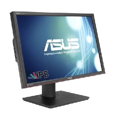 "LCD Monitor 24.1"" ASUS PA248Q / IPS / WUXGA 1920 x 1200 / 16:10 / 6 ms / 300 cd / 80M:1 / VGA + DVI + HDMI + DP / 5x USB 3.0"