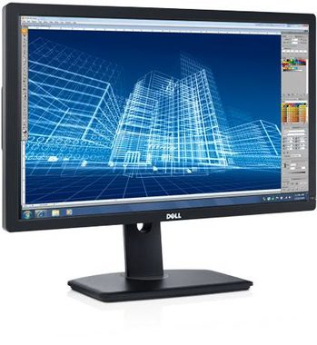 "LCD Monitor 27"" DELL U2713H / LCD / 2560x1440 / IPS / 16:9 / 6ms / 1000:1 / 350cd-m2 / DVI+DP+mDP+HDMI+USB / Černý / 3YNBD"