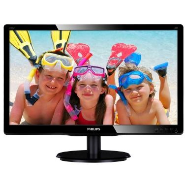 "LCD Monitor 22"" PHILIPS 220V4LSB / LED / 1680 x 1050 / TN / 16:10 / 5ms / 250cd-m2 / 10mil:1 / VGA / DVI / Černý / výprodej"