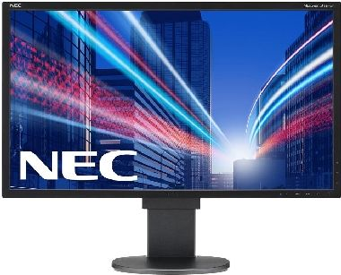 "LCD Monitor 24"" NEC EA244WMi/ W-LED / 1920 x 1200 / IPS / 16:10 / 5ms / 1000:1 / 350cd-m2 / DVI / HDMI / PIVOT/ černý"