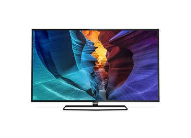 "40"" Philips 40PUT6400/12 / Dual Core LED TV / 4K Ultra HD / DVB-T/T2/C / Android 5.1 / černá"