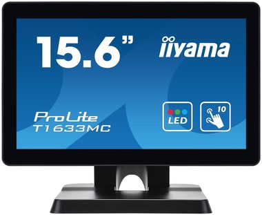 "16"" IIYAMA ProLite T1633MC-B1 / IPS / 8ms / 255cd-m2 / 500:1 / HD / DP / HDMI / VGA"
