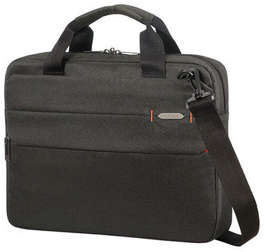 "Samsonite Network 3 LAPTOP BAG 14.1"" Charcoal Black / Taška na notebook"