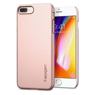 Spigen Thin Fit rose gold zadní kryt pro Apple iPhone 7+   8+ růžovo-zlatá ae0ef0fa0da