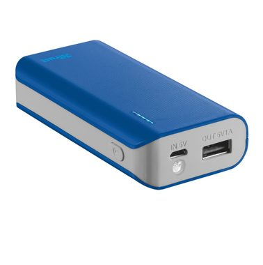 Trust Primo PowerBank 4400 Portable Charger modrá / 1A