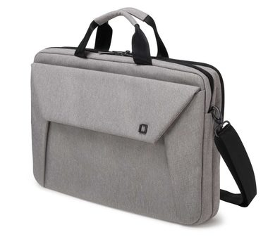 "DICOTA Slim Case Plus EDGE 14"" - 15.6"" light grey / brašna na notebook / až 15.6"" / světle šedá"