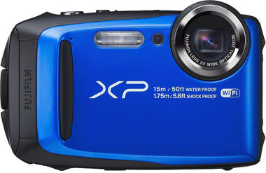 Fujifilm FinePix XP90 / 16.4 MP / 5x zoom CST / Modrý