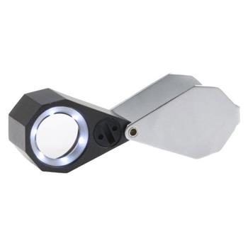 Viewlux lupa 10x21mm s LED světlem