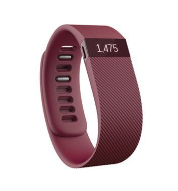 Fitbit Charge velikost S / Fitness / Android / iOS / fialová (Burgundy)
