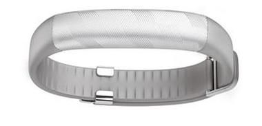 Fitness náramek Jawbone UP2 - Light Grey / Bezdrátový fitness tracker / Bluetooth 4.0 / iOS a Android / šedá