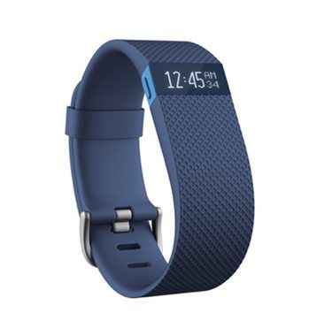 Fitness náramek Fitbit Charge HR velikost L / Fitness / monitor tepové frekvence / Android / iOS / modrý
