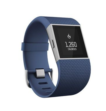 Fitness náramek Fitbit Surge velikost L / Fitness / Android / iOS / modrý