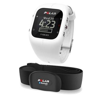 POLAR A300 HR / Fitness / Bluetooth / bílá