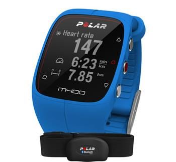 POLAR M400 HR / Fitness / Bluetooth / modrá
